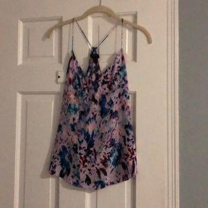Silk blouse/camisole